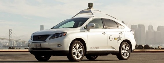 Toyota Prius do Google