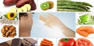 10 alimentos que protegem do sol