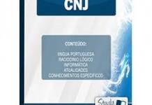Apostila Concurso CNJ Concurso Conselho Nacional de Justiça – Analista Judiciário