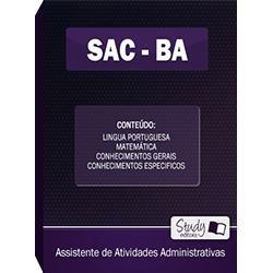 Apostila Concurso Superintendência de Atendimento ao Cidadão – SAC BA – Assistente de Atividades Adm