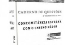 Coleção Faetec-RJ – 1ºe2ºsemestre 2011-concomitante externo e interno com o ensino médio-matematica