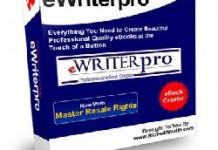 Editor de e-books eWriterPro-V2