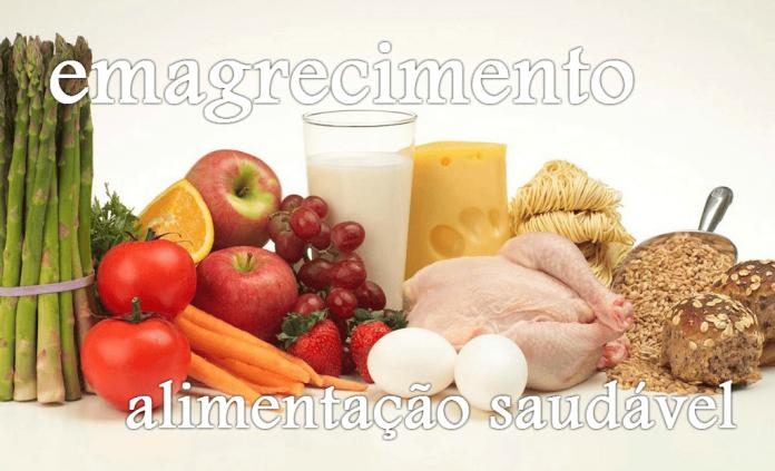 Emagrecimento com alimentação saudável