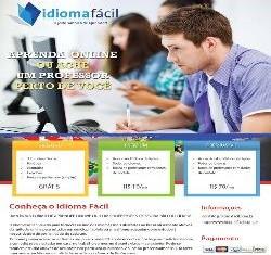 Curso online de espanhol, inglês, francês, italiano e alemão + e-book
