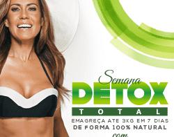 Semana Detox com Solange Frazão