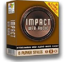Impact WebAudio - Coloque Audio Profissional em seu Site, grave sua voz e insira fácil em seu site