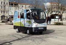 Automóvel do futuro - Micro-ônibus são testados na Europa e dispensam motoristas