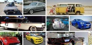 melhores carros de cinema