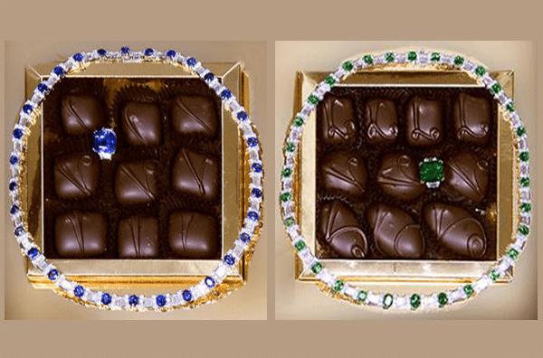 A caixa de doces mais cara - Le-Chocolat