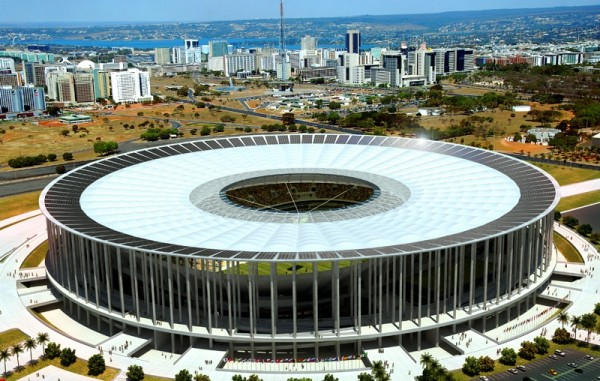 Copa do Mundo 2014 Estadio Nacional Mané Garrincha – Brasilia