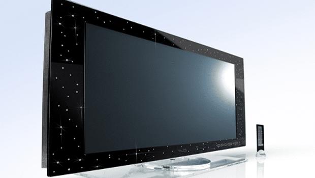 O televisor mais caro - TV LCD da Yalos Diamond