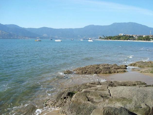 Praia do Pontal da cruz - São Sebastião-SP