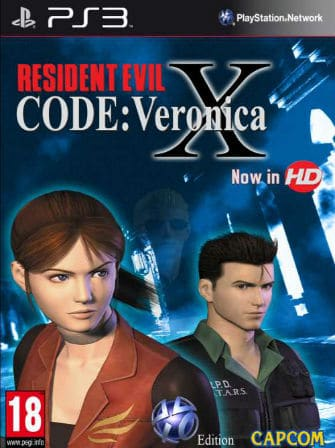 Resident Evil Code Veronica X Ps3
