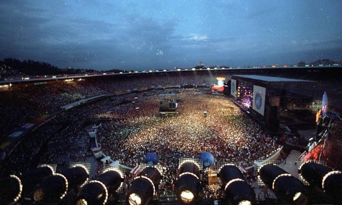 Rock in Rio em 1991 no Maracanã