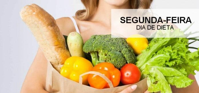 Segunda-feira no 5 motivos para comear a dieta hoje mesmo