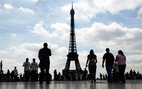 Torre Eiffel Paris - Franca