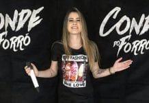 A Banda Conde do Forró vive o melhor momento da sua história com a entrada da vocalista Jarli Almeida