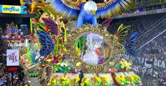 Águia de Ouro é campeão do Carnaval de São Paulo