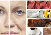 alimentos que o fazem envelhecer