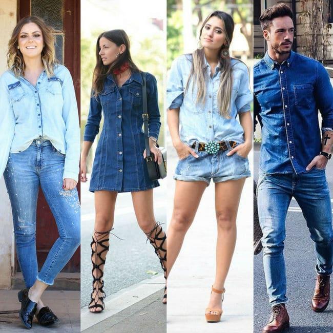 All Jeans - looks monocromáticos