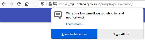 Ativar as Notificações Push no Mozilla Firefox