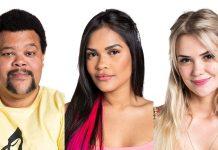 Babu, Marcela e Flayslane formam o Paredão da Semana