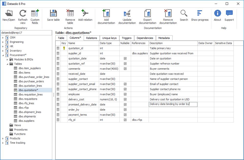 dataedo-interface-banco-dados