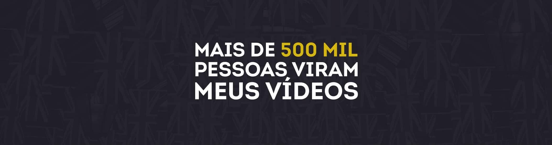 Mais de 500 mil views de Vídeos do Inglês do Jerry
