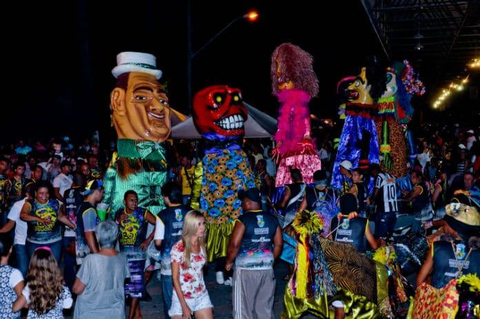 Boi da manta - Carnaval em Vespasiano - MG