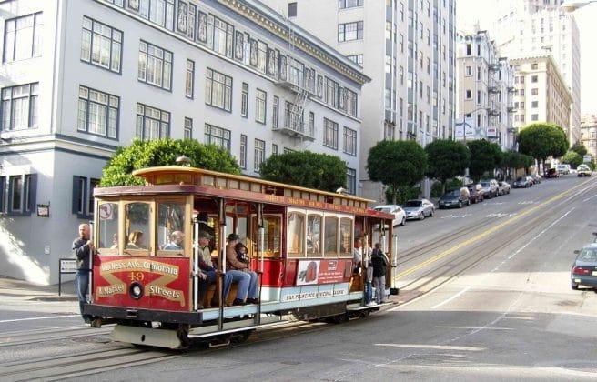 Bonde - transporte público - São Francisco, Estados Unidos