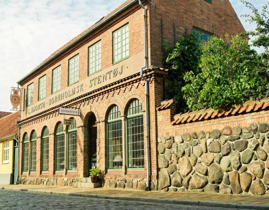 Bornholm Ceramic Museum em Roenne
