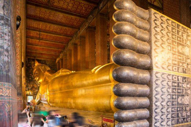 Buda deitado de Bangkok