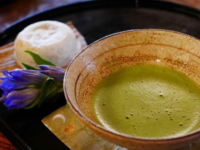 Chá Matchá - chá verde japonês