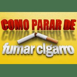 como parar de fumar cigarro