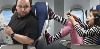 Como viajar de avião com crianças