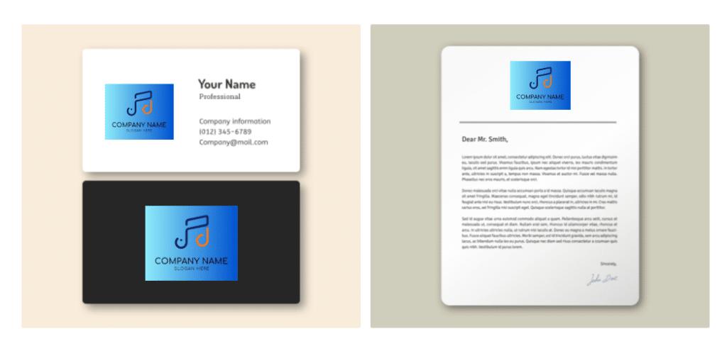 Criar logotipo para site e cartão de visita