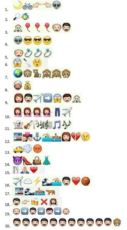 desafio emoji