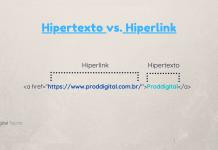 Diferenças entre Hipertexto e Hiperlink