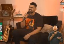 Dilsinho faz sua segunda live nesse Sabado