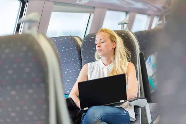 Dormindo em viagens de ônibus