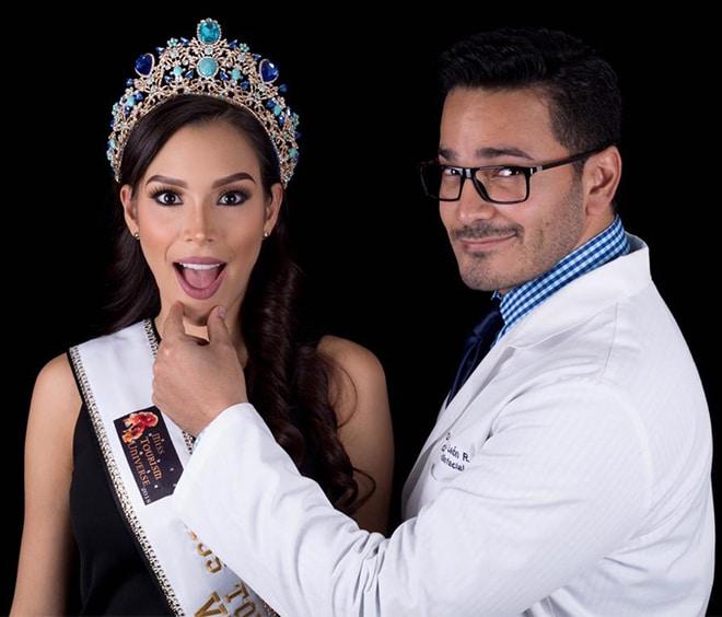 Dr. Nelson León - resultado maxilofacial