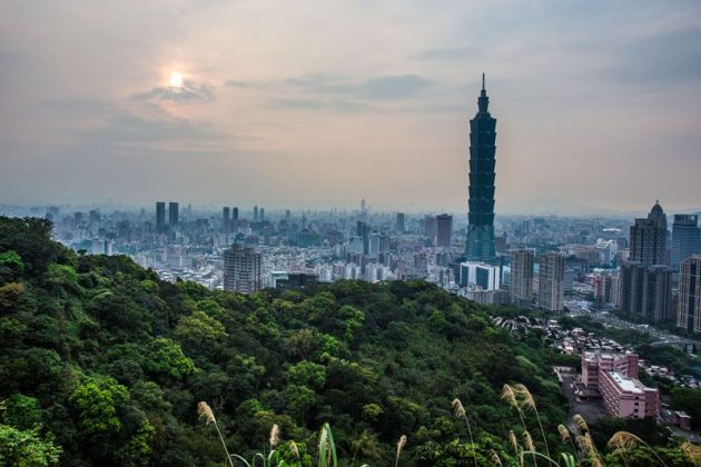 Elephant Mountain de Taipei