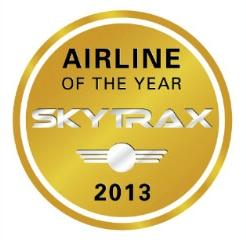 Emirates Airlines prêmio Skytrax de melhor companhia aérea do mundo de 2013 - 2