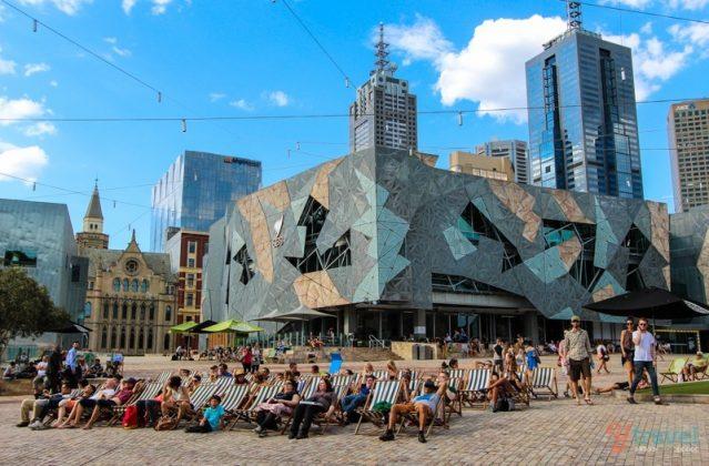 Federation Square em Melbourne