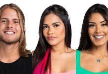 Flayslane, Ivy e Daniel formam o Paredão dessa semana