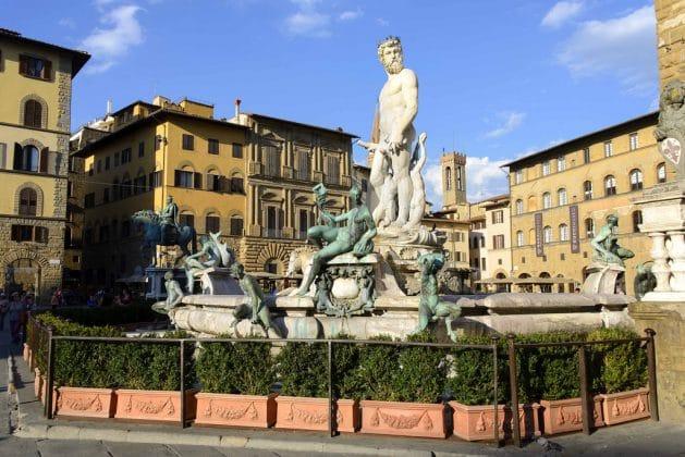 Fonte de Netuno de Florença