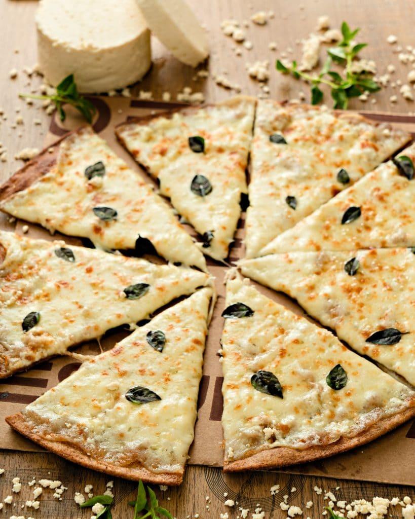 Pizza Estupenda, pizza saudável