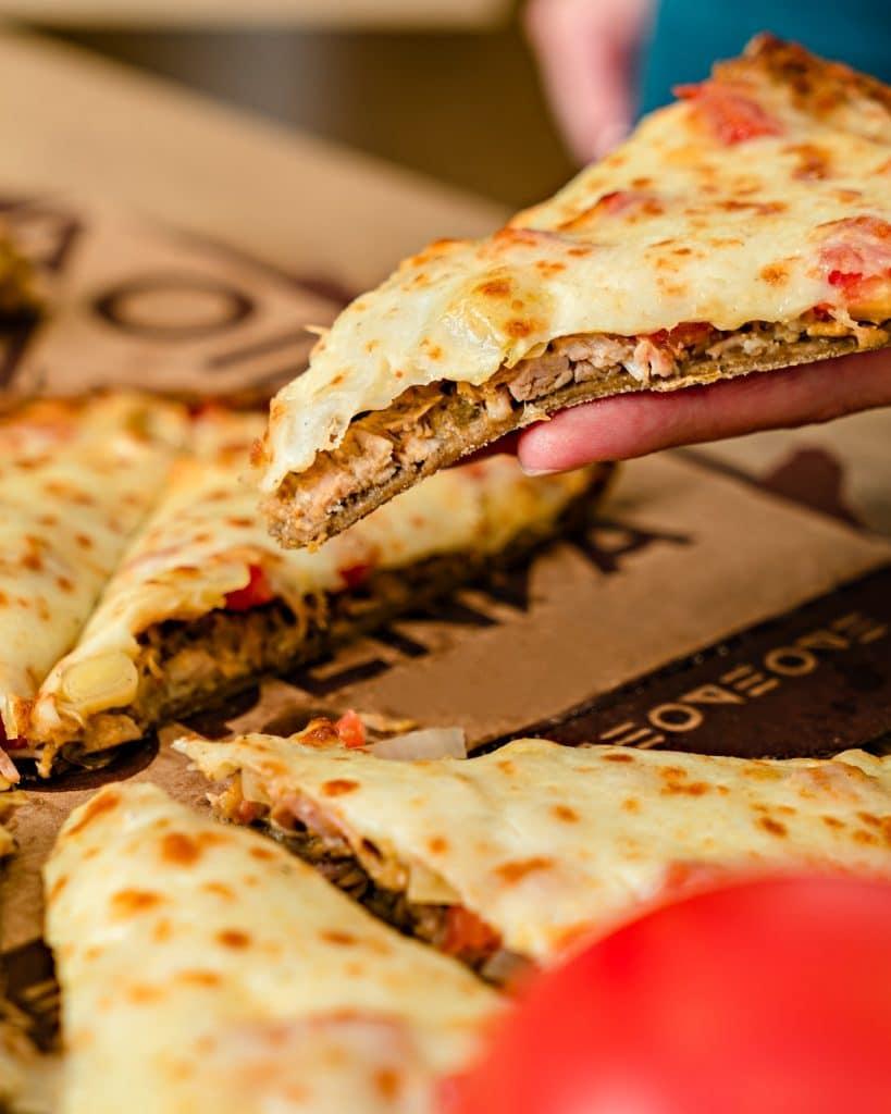 Pizza Estupenda - pizza saudável