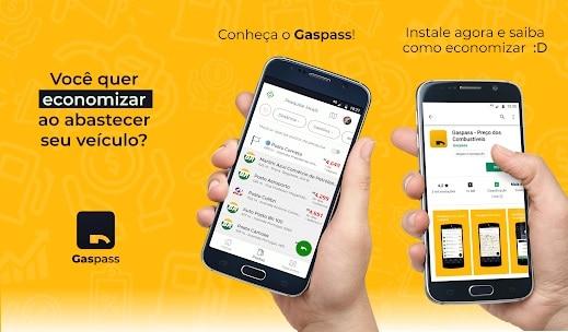 Gaspass – Preço dos Combustíveis - aplicativos para economizar combustível