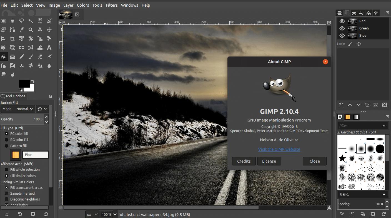 gimp-editores-de-imagem